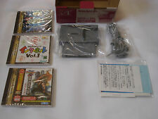 Sega Saturn Modem HSS-0148 + Virtua Fighter Remix Game Seganet NEW