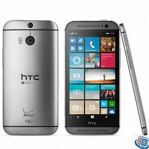 Gray Unlocked Verizon HTC One M8 Gunmetal 6995L GSM LTE Smartphone