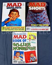 3 Mad Magazine Super Special Issues #50 64 68 Sillier Nonsense Gross-Outs Shorts