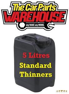 5L LITRES Standard Thinners Gun Wash Parts Cleaner Paint Thinner Cellulose