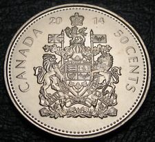 RCM - 2014 - 50-cents - Coat of Arms - BU ( From a new roll )