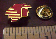 AEROMEXICO AIRLINES LOGO MEXICO METAL & ENAMEL AZTEC EAGLE HEAD MINI PIN