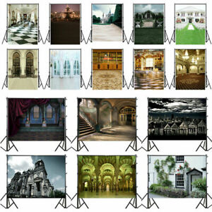 Church Wall Floor Vinyl Baby Photography Backdrop Photo Studio Background Props