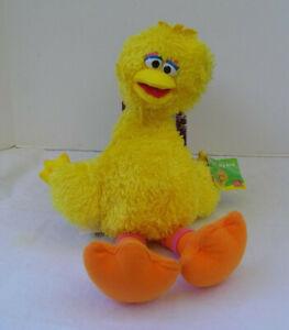 "15"" Gund Jim Henson Sesame Street Yellow Big Bird Plush 2010"