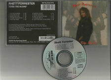 RHETT FORRESTER - Even the score CD HARD ROCK QUIET RIOT DOGBONE RIOT DOKKEN