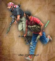 1/35 Arab Soldier Resin Kits Unpainted Figure Model GK Unassembled