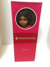 American Girl Chrissa Doll GOTY 2009 in Original Box with Book and Meet Outfit