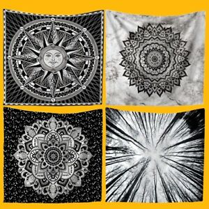 Mandala Tapestry Indian Wall Hanging Bohemian Hippie Bedspread Throw Home Decor