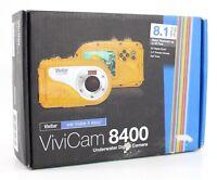 Vivitar ViviCam 8400 Underwater Digital Camera 8.1 MP 8X Digital Zoom Yellow Nib