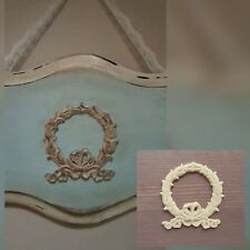 Wreath Furniture Drawer Door Table Decoration Applique Moulding Onlay Decal