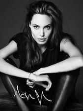 Angelina Jolie SIGNED PHOTO ELLE MAGAZINE PHOTOSHOOT AUTOGRAPH #2