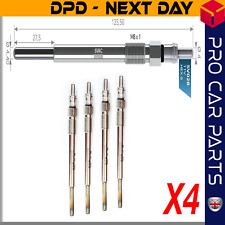 4X GLOW PLUG fits PEUGEOT 107 207 307 308 407 1007 3008 BIPPER 1.4 1.6 HDI