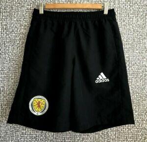Scotland Football Soccer Scottish Training Shorts Adidas 2015 Mint Mens size S