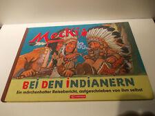 Mecki bei Den Indianern Bilderbuch Sonderausgabe Alinea Verlag 2002