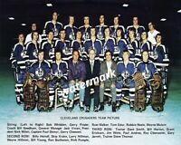 WHA 1972 - 73 Cleveland Crusaders Color Team Picture 8 X 10 Photo Picture