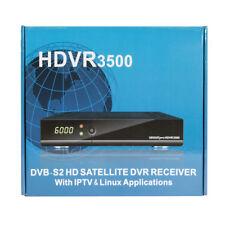 GEOSATpro HDVR3500 DVB-S2 MPEG4 Satellite Receiver PVR WiFi LAN CC