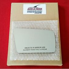 NEW Mirror Glass + ADHESIVE 96-00 MERCEDES VARIOUS MODELS Passenger Right Side
