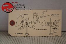 37 38 39 40 41 Chevy Jack Instructions Wire-on Tag All Passenger Cars