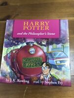 Harry Potter & the Philosopher's Stone Audio Book Complete 7 CD Set Stephen Fry