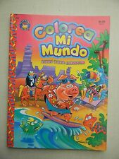 Spanish Coloring Book / Español Libro Para Colorear, Colorea Mi Mundo