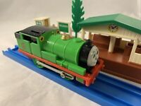 Rare 1994 Thomas Friends, PERCY, Working Motorized Train, Trackmaster GUC TOMY