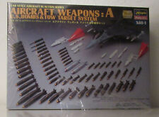 1/48 Hasegawa Aircraft weapons A Us Bombs and Tow Target X48 Weapons set A