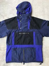 The North Face Rage Anorak Men's M Black Blue Vintage 90s Thinsulate Ultrex