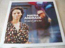 MAYRA ANDRADE - WE USED TO CALL IT LOVE - 2014 PROMO CD SINGLE