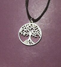 Tree Of Life Silver Plated Pendant Adjustable Necklace 2