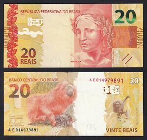 Brasile 20 reais 2010 SPL++/XF++  C-08