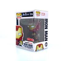 634 Funko POP! Marvel Avengers Gamerverse Iron Man w/ PROTECTOR Target Exclusive