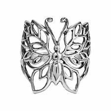 Pretty Wild Butterfly .925 Silver Ring-8