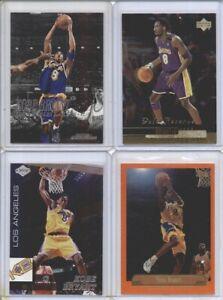 LOT OF 4 DIFFERENT 1999-00 Kobe Bryant Cards Topps/Skybox/Upper Deck/Edge HOF!!