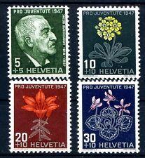 SVIZZERA 1947 - PRO JUVENTUTE  SERIE NUOVA **
