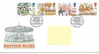wbc. - GB - FIRST DAY COVER - FDC - COMMEMS -1983- BRITISH FAIRS - Pmk NOTTING'M
