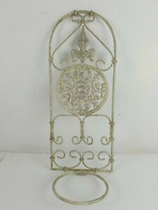 Metal Wall Plant Candle Holder