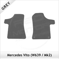 MERCEDES VITO W639 Mk2 2003-2014 Tailored Carpet Car Floor Mats GREY