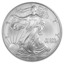 2006 1 oz Silver American Eagle Coin - Brilliant Uncirculated - SKU #12082