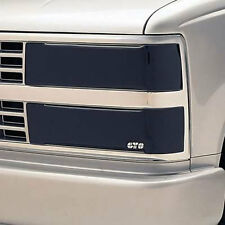 Fits 90-93 Chevrolet GMC Truck SUV GTS Acrylic Smoke Headlight Covers GT0901S/4
