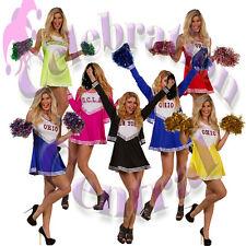 Pompoms Pom Poms Cheerleader Dance Wear Hen Party Fancy Dress Accessory 1 Pair