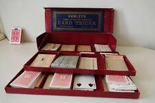 VERY RARE - VINTAGE - HAMLEY'S CABINET OF CARD TRICKS