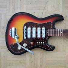 "Sakai (Teisco/Kawai) E-Gitarre - rare 1970s - ""Hertiecaster"" made in Japan"