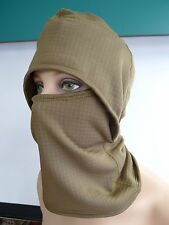 BALACLAVA COLD WEATHER HEAVY WEIGHT HOOD HEAD COVER SEKRI HALYS OLIVE NEW