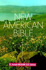 New American Bible, St. Joseph Medium Size Edition by Catholic Book Publishing C