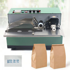 180W Stainless Steel Ink Wheel Date Label Machine Auto Dry ink Ink wheel printer