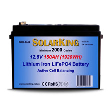 150amp SolarKing lithium battery 12.8 volt with BMS, direct replacement for AGM
