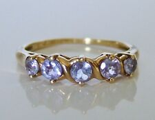 Beautiful 9ct Gold Tanzanite Ring Size M