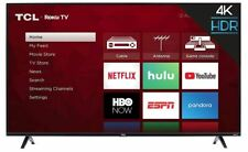 "BRAND NEW - TCL-43"" Class LED Smart 4K Ultra HD Roku TV (43S425)"