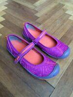 KEEN Moxie Casuals Mary Jane Flat Shoes Purple Wine Sz Eu 37 / US 5 / UK 4