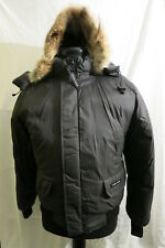 CANADA GOOSE MEN'S CHILLIWACK BOMBER JACKET GRAPHITE GLOSS GREY Sz M  AUTHENTIC